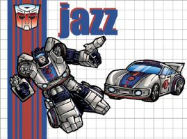 Autobot Jazz by 3niteam