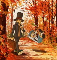 Layton- this reminds me by olafpriol