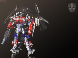 buster optimus prime wallpaper by HurricanePolymar