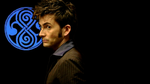 The Doctor overshadows Rassilon - blue+black by Genuka