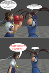 Sakura and Ibuki in: fanfiction.net in a nutshell by thebigguy123