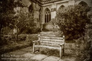Gothic Bench by twilliamsphotography