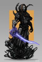 Seijin Wraith Knight by TheLivingShadow