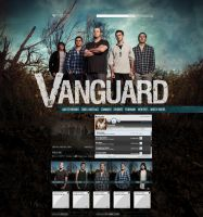 Myspace: Vanguard by stuckwithpins