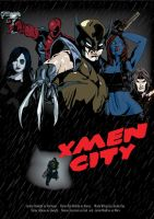 Sin City X Men by Kirwin85