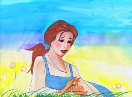 QuickArt: Belle by InuyashaFan4-ever