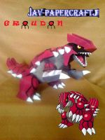 Groudon by javierini