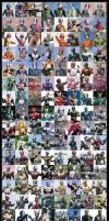 Kamen Rider Through 40 Years by Aldjokdja