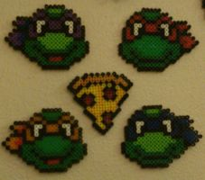 Heroes In A Half Shell -- by 8bitsofawesome