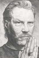 james hetfield...St. Anger by mimikanij