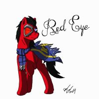 Red Eye by AviatorGriffin