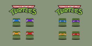 TMNT ST1 HD icons by me by lesa0208
