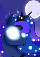 Princess Luna by BusyBeingClever
