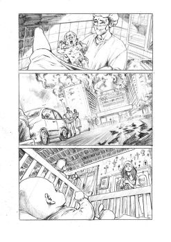 Marked - Observatory Comics - Pencil by MikaelNoon92