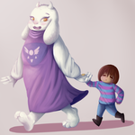 Take my hand, little one by Pannecs