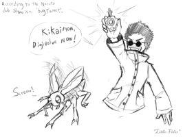 Shino the Bug Tamer by Lithe-Fider