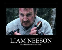 Liam Neeson by cowman2000