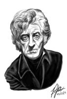 Jon Pertwee by andepoul