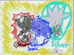 Sonic,Shadow,and Silver!!(digital) by BHM321