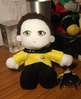 Star Trek - Data plushie by Gurulazer