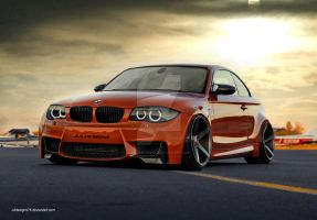 BMW 1M Render by JAdesigns75