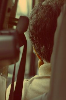Back seat photographer by gearspec