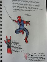 Spiderman Concept Art No.1 by TakuaNui