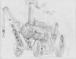 Oswald after Rebuild. by steamby51