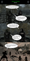 Skyrim is Strange - Serana by HelloMyNameIsEd