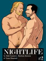 NIGHTLIFE #2, a digital gay erotic comic! by DaleLaz