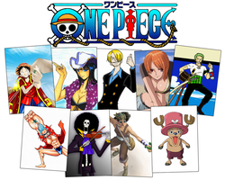 One Piece Wallpaper by k4muii