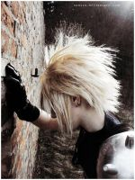 FFVII: Blonde head disaster. by Sansex