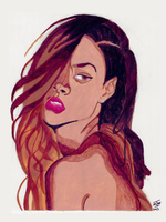 Rihanna by IkeDaArtist