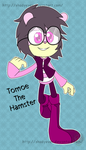 Tomoe The Hamster by shadyever