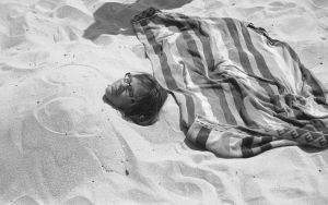 Emily buried in sand by myoung4828