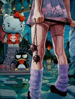 'Kitty Fight' by davidmacdowell
