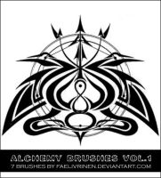 Alchemy Brushes Vol. 1 STAMPS by faelivrinen-stock