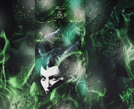 Maleficent 'Once Upon A Dream' by de-starkova