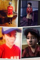 Me as Clem by Ashben11