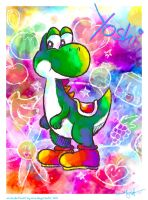 Simply Yoshi by MissNeens