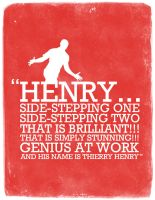 Thierry Henry by manishdesigns