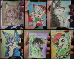 ACEO cards by Spaggled