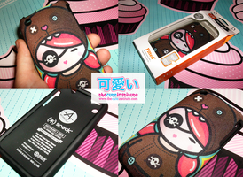 kawaii Ipod case by ladysnowbloodz