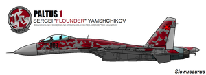 Ace Combat Rebirth Profile: Flounder the Terrible by slowusaurus