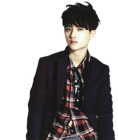 { (11012014)PNG/Render #106} D.O (EXO) by Larry1042k1