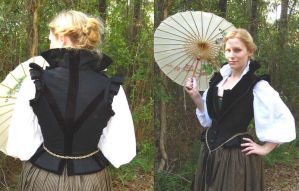 Elizabethan doublet by janey-jane