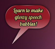 Speech Bubble 2 with link to my tutorial by jecw