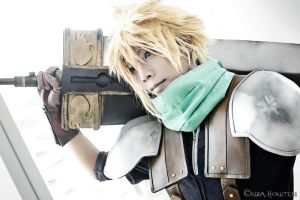 Cloud Strife 3 by JohnAmuroRey