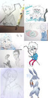 RotG Sketch Dump by piikan