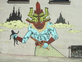Street art by ThEiUfO